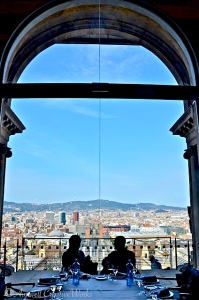 View of Barcelona from the Museu Nacional d'Art de Catalunya